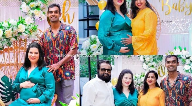 Few More photos:- Radhika daughter Rayanee baby shower pics!