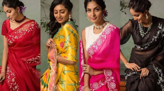 Bhargavi Kunam's summer sarees collection are really breathtaking!