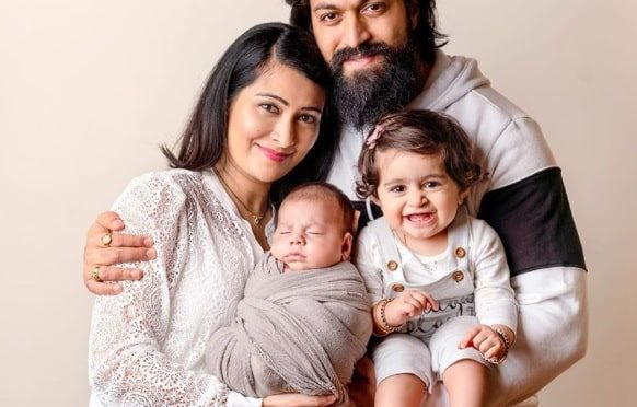 KGF Hero Yash wife Radhika shares her son's first pic