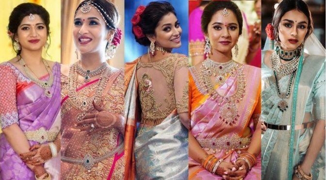 Trending Pastel Colour Kanjeevaram sarees!