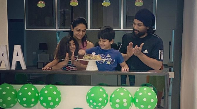 Allu Arjun son Allu Ayan 6th birthday photos!
