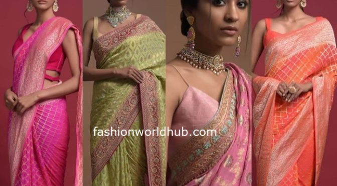Banarasi saree Collections from Kalki Fashions!
