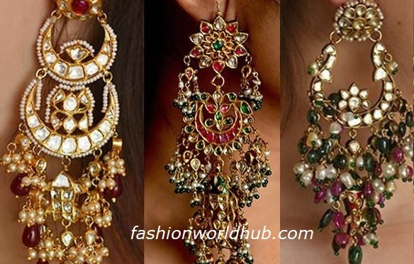 Beautiful gold ear ring collections from H Vithaldas Jewellers