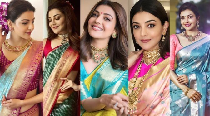 Kajal Aggarwal saree looks!