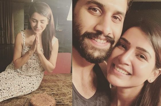 Samantha akkineni  birthday celebration pics!