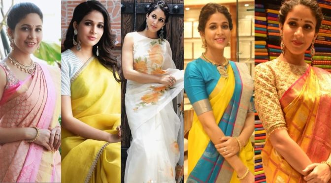 Lavanya Tripathi Saree looks!