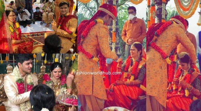 Actor Nikhil Siddhartha and Pallavi Sharma Wedding photos!