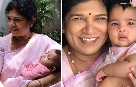 Surekha Konidela and her grand daughter in matching outfits!