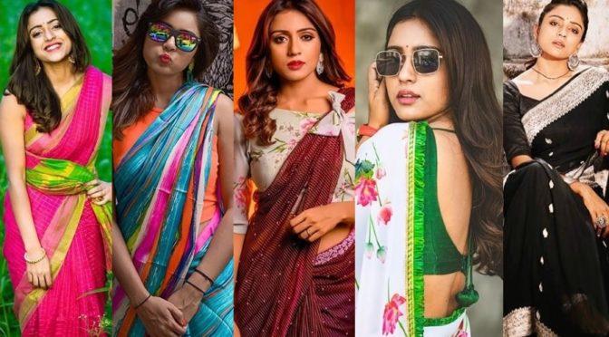 Vithika Sheru Saree looks!