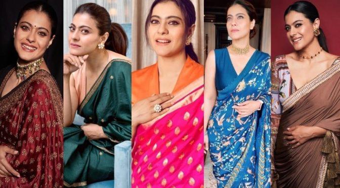Kajol Devgan super stylish saree looks will blow your mind!