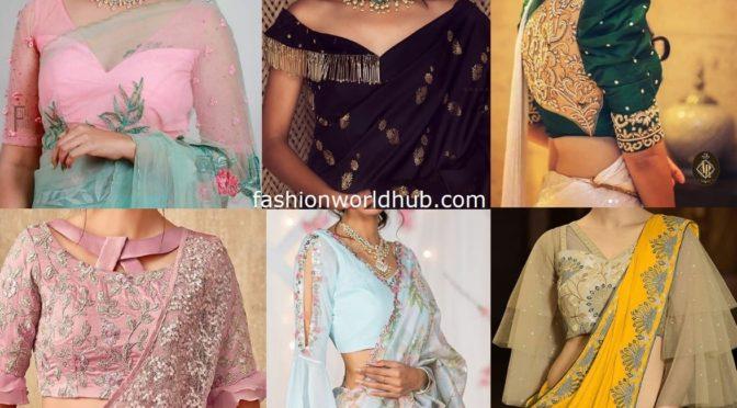 Stylish designer blouses!