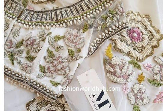 Beautiful maggam work blouse designs!