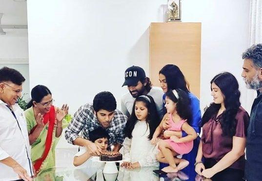Allu Sirish birthday Celebration pics!