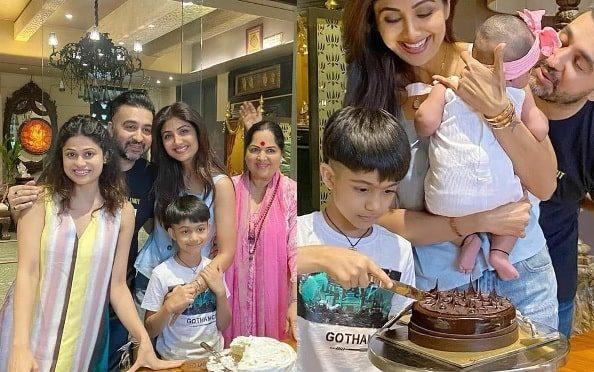 Shilpa Shetty birthday celebration pics!