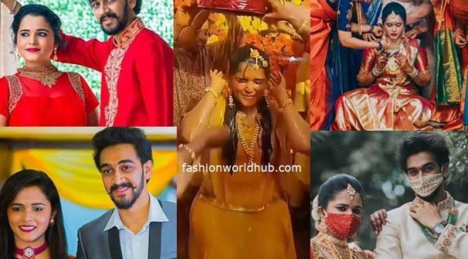 TV Actress Navya Rao wedding photos!