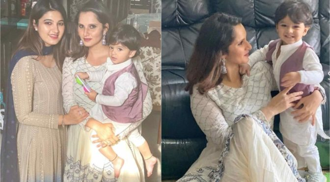 Sania Mirza and Anam Mirza festive look!