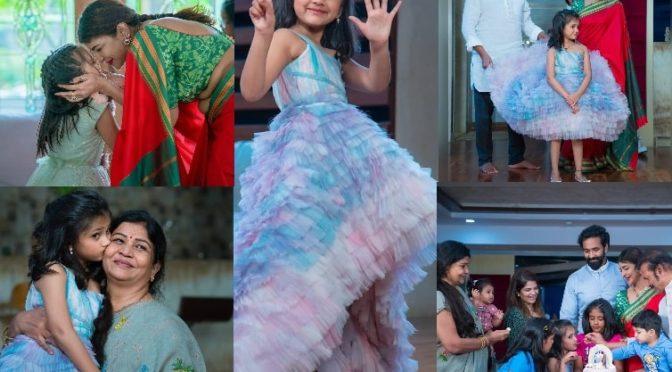 Lakshmi Manchu daughter Nirvana Manchu 6th Birthday celebrations photos!