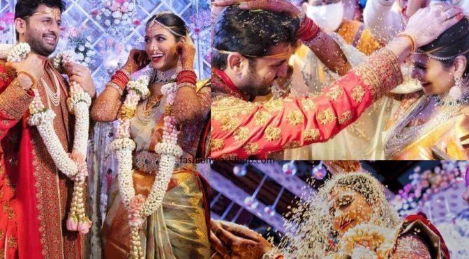 Nithiin and Shalini's Wedding Photos!