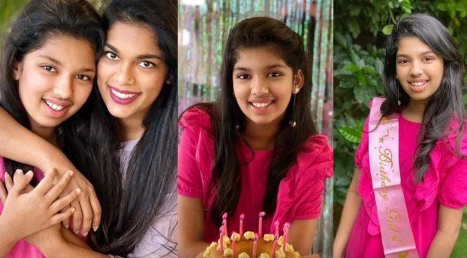 Sreeja Kalyan's daughter Nivrthi 12th birthday Celebration pics!