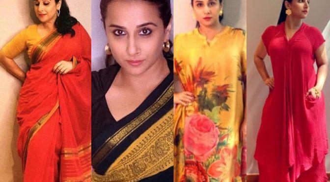 Vidya Balan beautiful looks for promotions of  Shakuntala Devi !