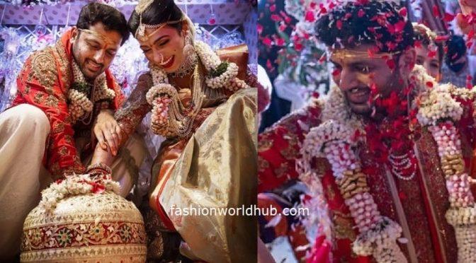 Few more wedding pics of Nithiin and Shalini!