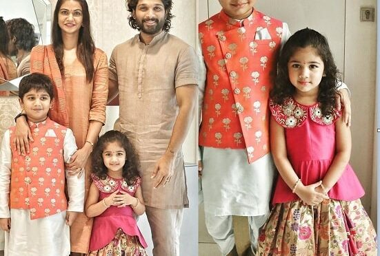 Allu Arjun family in traditional outfits!