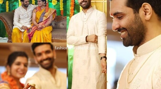 Fidaa film Actor Raja chembolu got engaged!