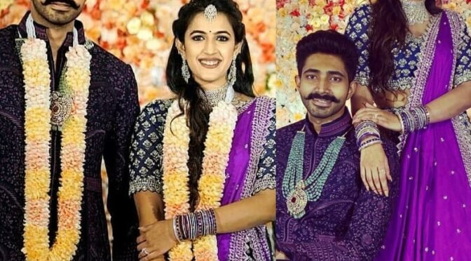 Niharika Konidela got engaged to Chaitanya Jonnalagadda