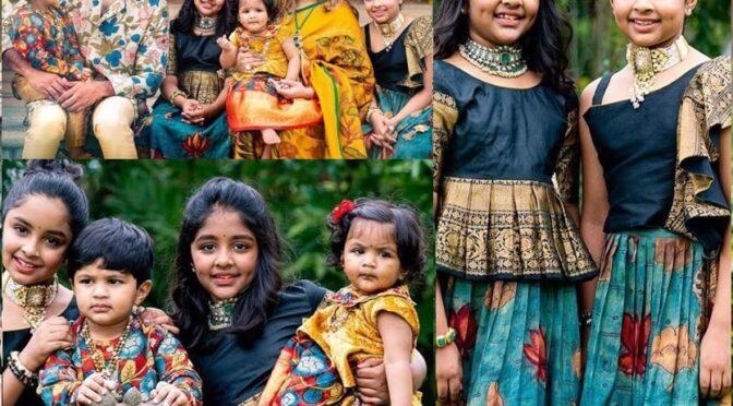 Vishnu Manchu family Vinayaka Chaturthi celebration pics!