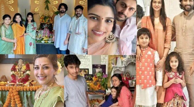 Ganesh Chathurthi 2020- Celebrities photos