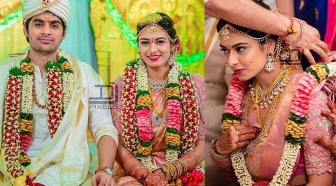 Saaho director Sujeeth's wedding photos!