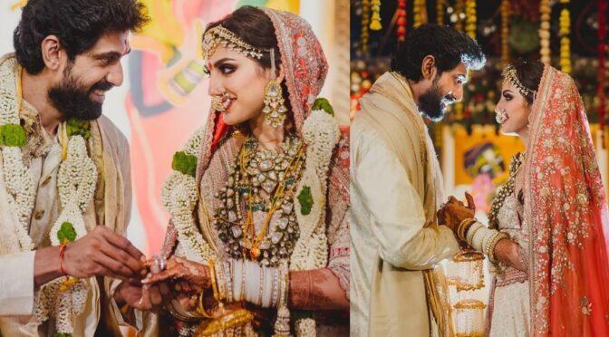 Rana Daggubati and Miheeka Bajaj's Wedding!!