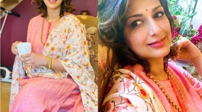Ganesh Chaturthi 2020 – Sonali bendre in Anavila