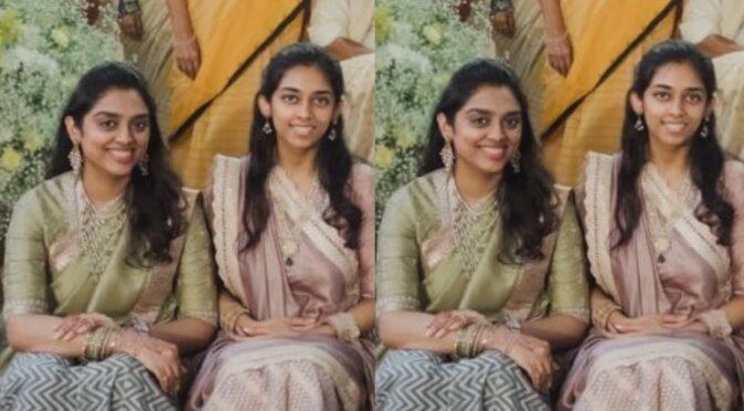 Venkatesh Daggubati's daughters in Traditional lehenga!