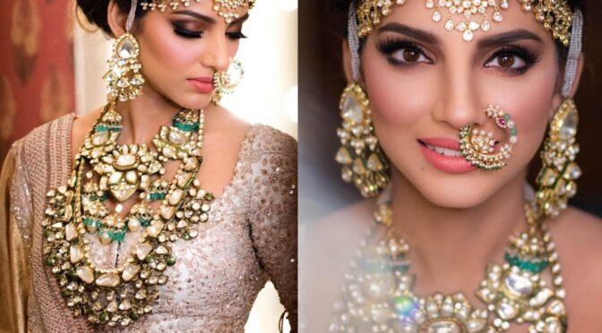 Miheeka Bajaj in Polki diamond Jewellery!