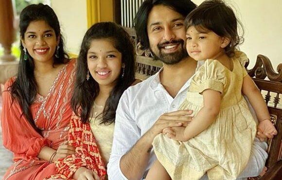 Sreeja Kalyan and family Celebrates Daughter's day!