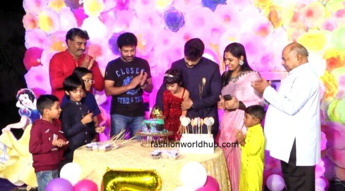 Kaushal Manda daughter lally's 5th birthday celebration photos!