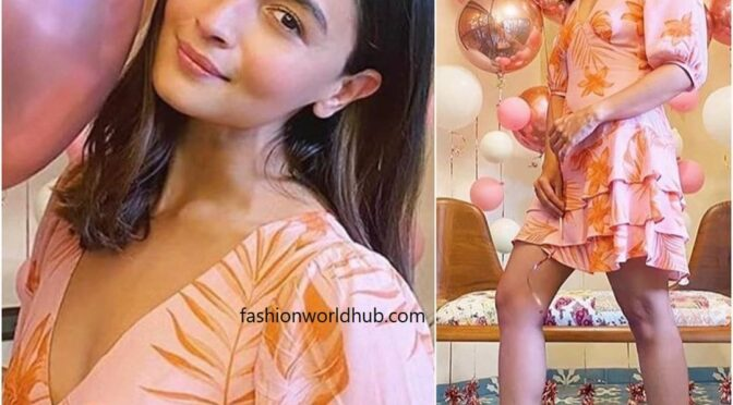 Alia bhatt at her friend's Birthday party