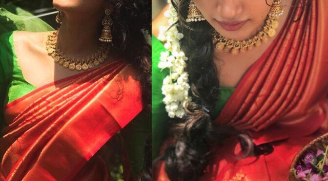 Anupama Parameswaran's onam look!