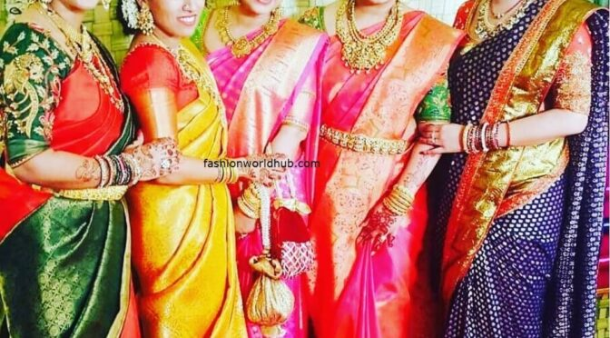 Celebrities in Traditional kanjeevaram Saree!