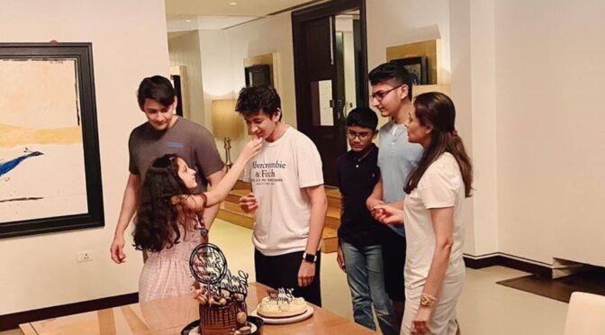 Gautam ghattamaneni birthday celebrations!