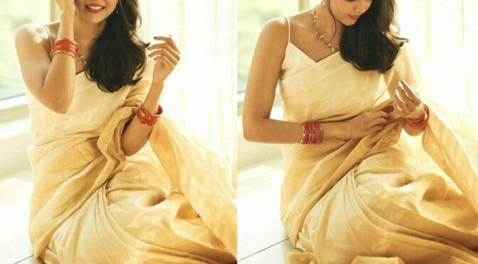 Onam 2020 :- Hello Movie actress Kalyani Priyadarshan's Festive Look!