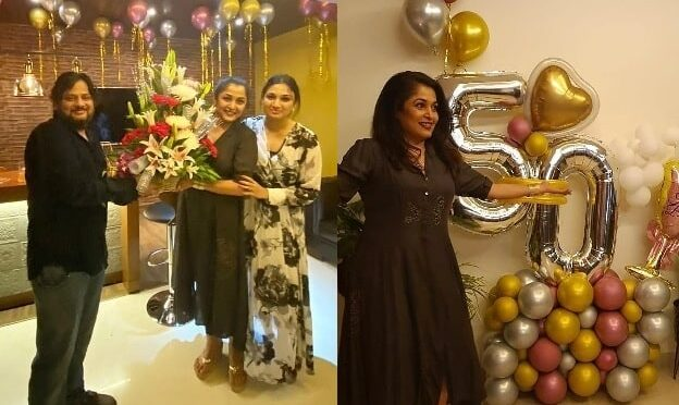 Actress Ramyakrishnan 50th birthday Celebration pics!