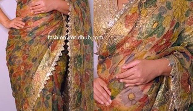 Vidya Balan in green kalamkari saree worth Rs 63k!
