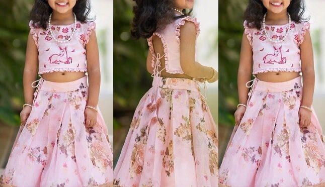 Allu Arjun daughter Allu arha in a floral print lehenga!