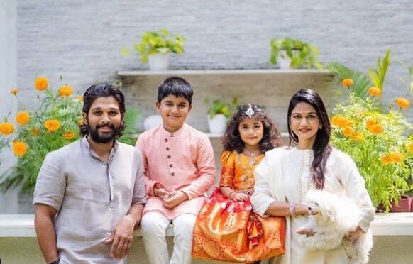 Allu Arjun family Dussehra Celebration photos!