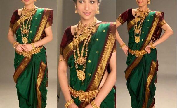 Ankita Lokhande's Traditional look !