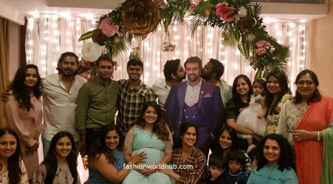 Meghana Raj Sarja baby shower video!