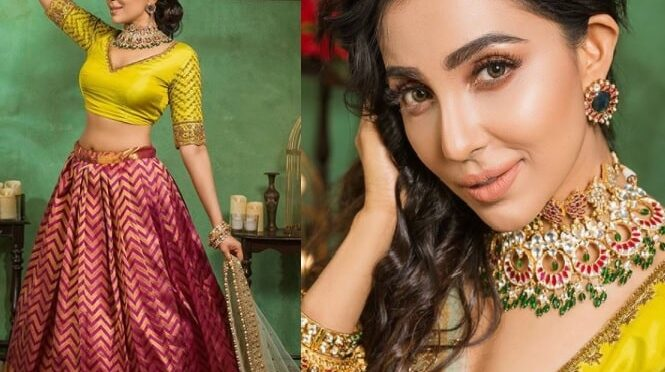 Parvati Nair looks stunning in traditional lehenga!