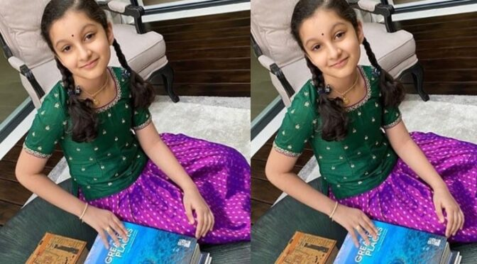 Mahesh Babu's daughter Sitara in a traditional lehenga!